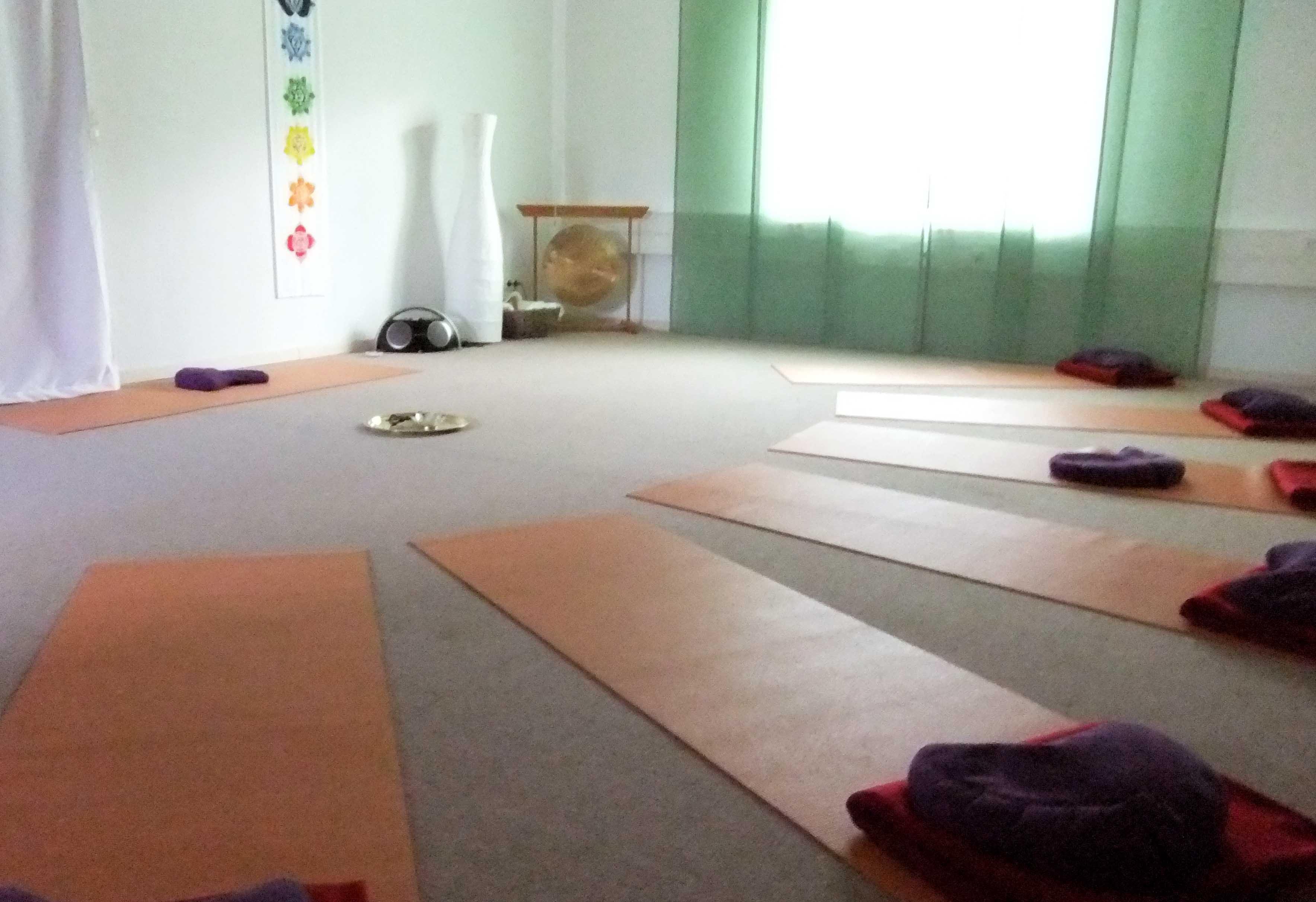 Yogaraum I EG Seminarhaus Mahanbir in Lehrte